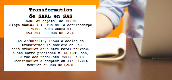 visuel exemple transformation sarl en sas